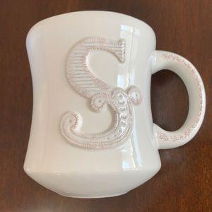 "Hallmark Stephen Carter Monogram ""S"" Mug"